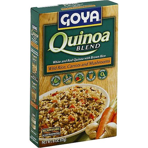 GOYA QUINOA BLEND WILD RICE/CARROTS&MUSHROOMS