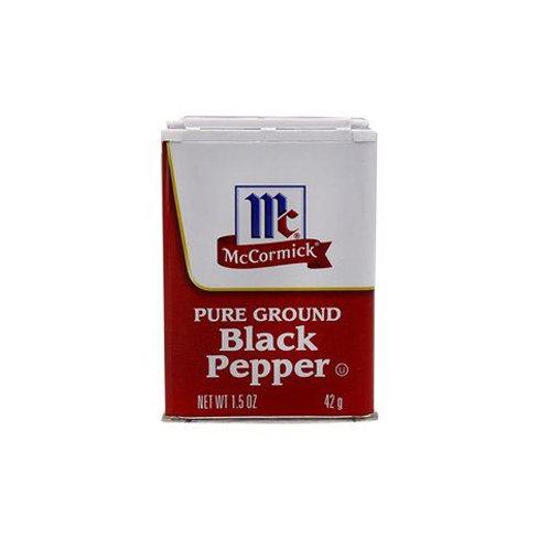 McCormick Black  Pepper 42g