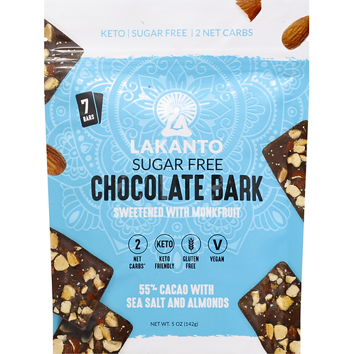 Lakanto Chocolate Bark 142g