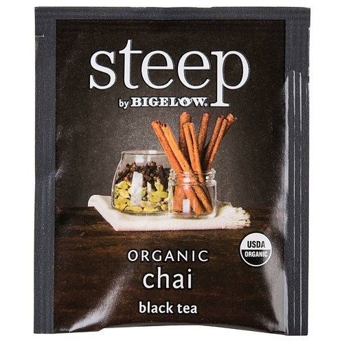 STEEP CHAI ORGANIC BLACK TEA 42G