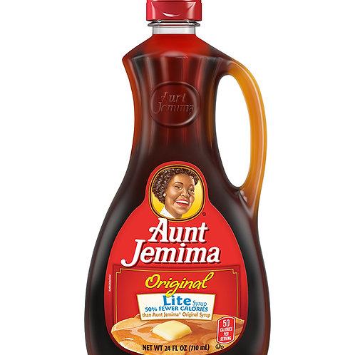 AUNT JEMIMA LITE SYRUP 710ML