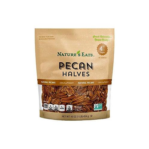 NATURES EATS PECAN HALVES