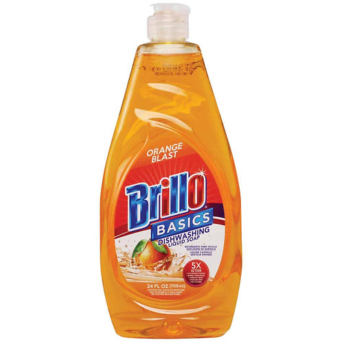 BRILLO LIQUID SOAP ORANGE BLAST 709ML