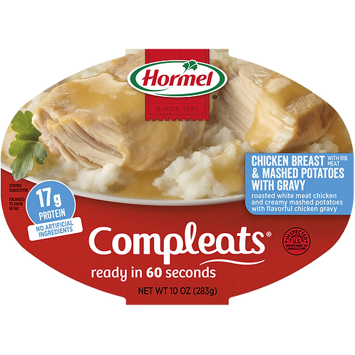 HORMEL CHICKEN BREAST&MASHED POTATOES 283G