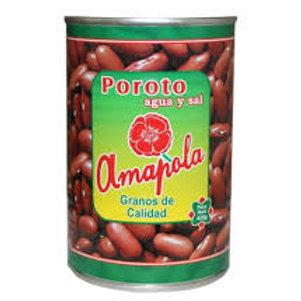 AMAPOLA POROTO EN AGUA/SAL 425G