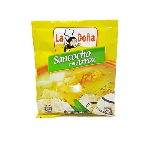 La Doña Sancocho con Arroz 60g