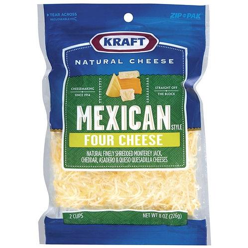KRAFT MEXICAN 4 CHEESE