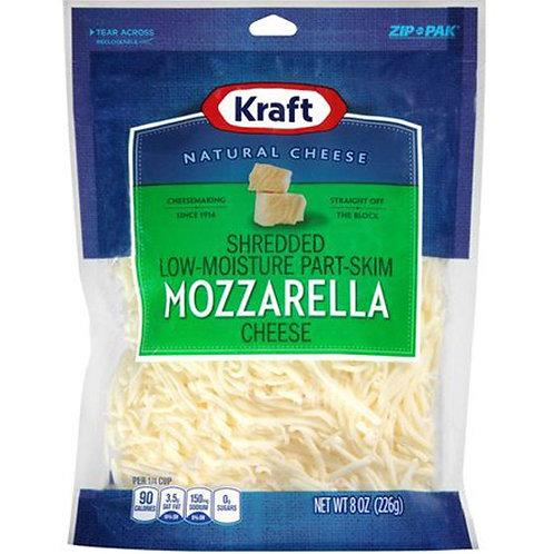 KRAFT MOZZARELLA SHREDDED 226G