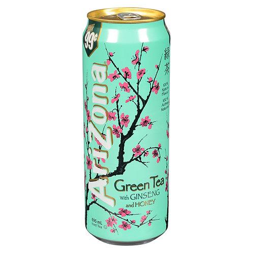 ARIZONA GREEN TEA WITH GINSENG/HONEY 680ML