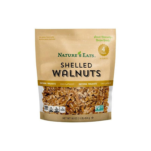 NATURES EATS SHELLED WALNUTS