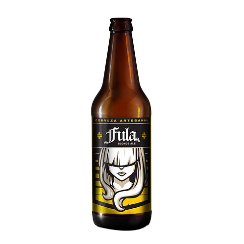Casa Bruja Fula Blonde Ale  355ml