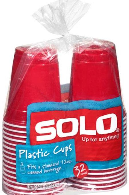 SOLO CUPS 12 OZ