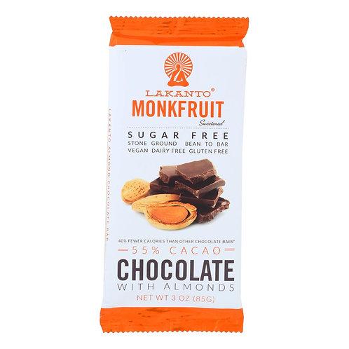 Lakanto Chocolate Almond Bar 85g