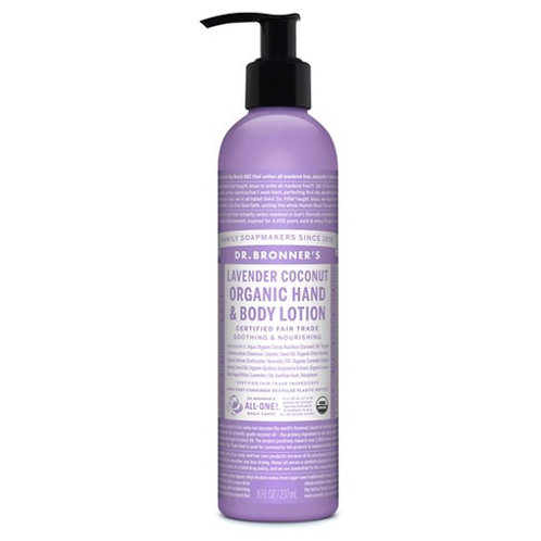DR BRONNERS LAVANDER HAND & BODY LOTION