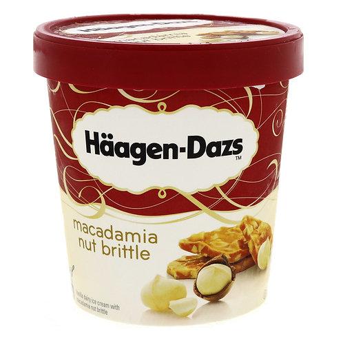 HAAGEN-DAZS MACADAMIA NUT BRITTLE