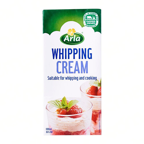 Area Whipping Cream Large