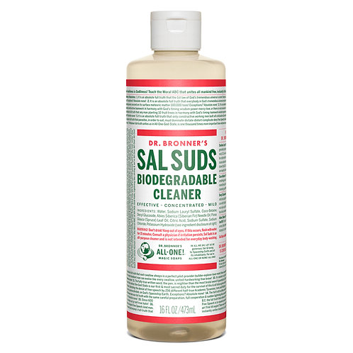 DR BRONNES SAL SUDS BIODEGRADABLE CLEANER