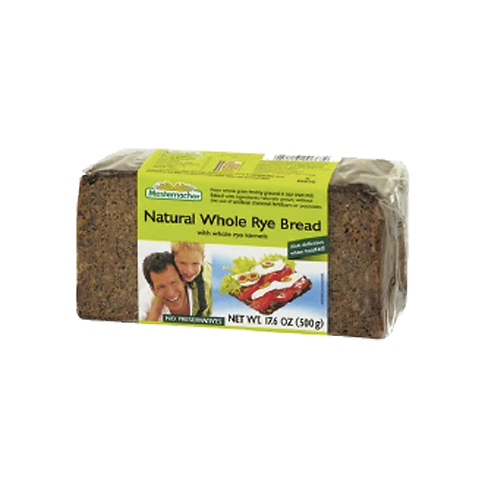 MESTEMACHER NATURAL WHOLE RYE 500G