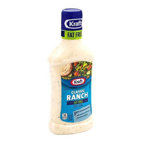 Kraft Classic Ranch Fat Free 473ml