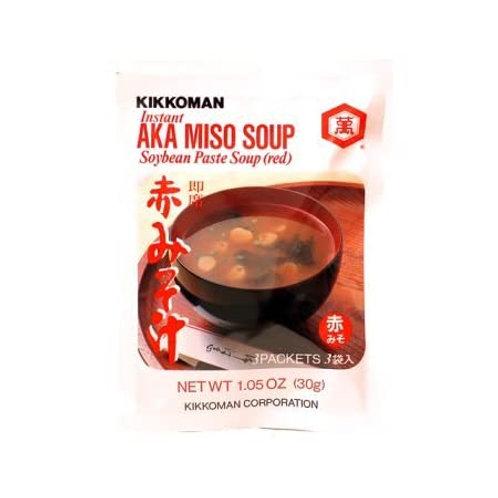 Kikkoman Aka Miso Soup Red 30g