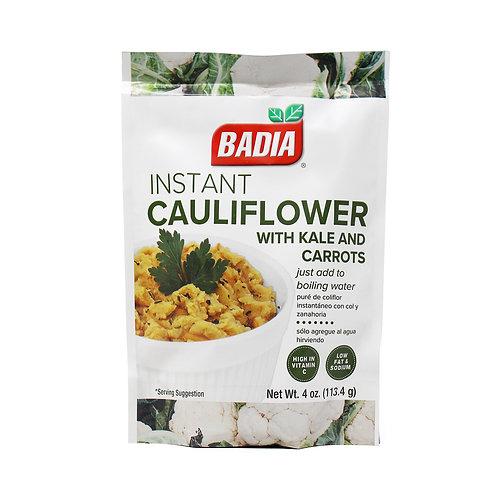 Badia Instant Cauliflower with Kale Carrots 4oz