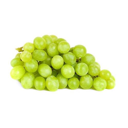 Uvas verdes sin semilla