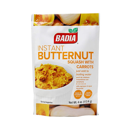 Badia Instant Butternut Squash/carrots 4oz