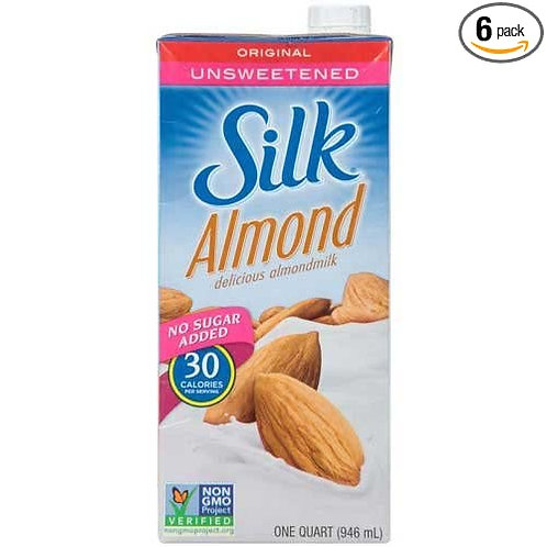 SILK ALMOND UNSWEETENED ORIGINAL 946ML