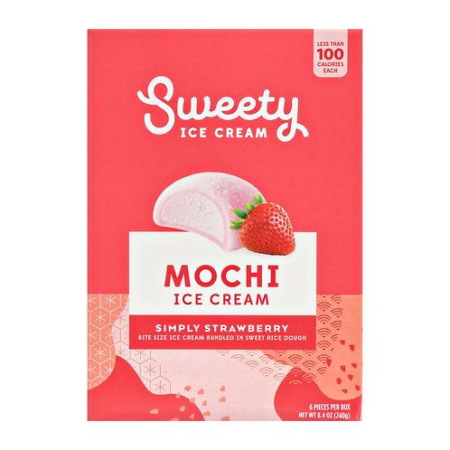 SWEETY MOCHI SIMPLY STRAWBERRY 240G