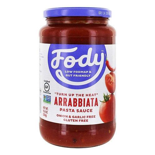 FODY ARRABBIATA PASTA SAUCE