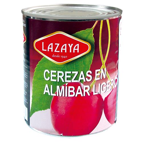 LAZAYA CEREZAS ROJAS 225G