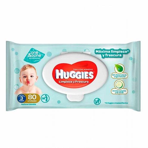 HUGGIES ONE & DONE TOALLAS HUMEDAS