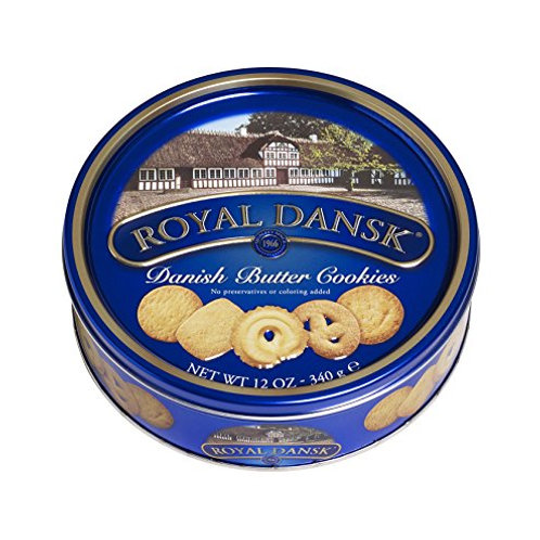 ROYAL DANSK DANISH BUTTER COOKIES 454G