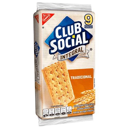 NABISCO CLUB SOCIAL INTEGRAL 234G