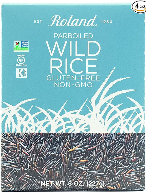 ROLAND PARBROILED WILD RICE 8OZ