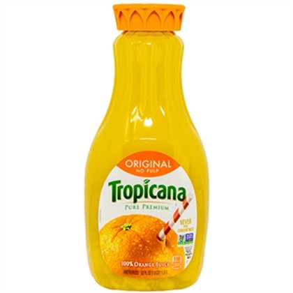 TROPICANA ORANGE JUICE ORIGINAL NO PULP 1.53L