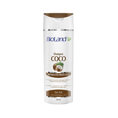 BIOLAND SHAMPOO COCO 440ML