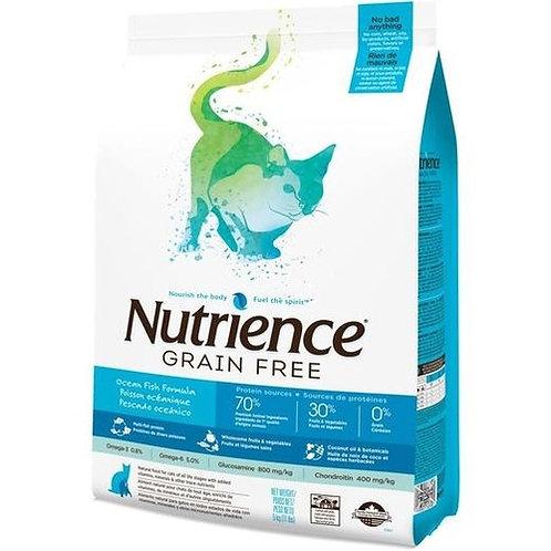NUTRIENCE CAT GRAIN FREE OCEAN FISH FORMULA