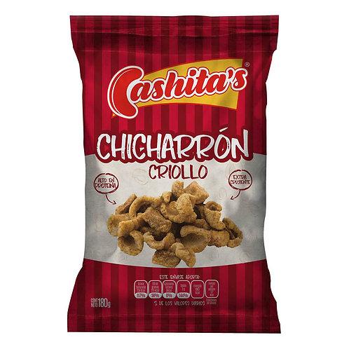 CASHITAS CHICHARRON CRIOLLO 180G