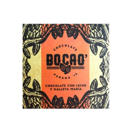 BOCAO CHOCOLATE CON LECHE Y GALLETAS MARIA