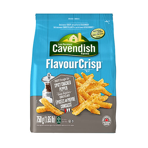 CAVENDISH FRENCHFRIES SPICY CRACKED PEPPER 1.
