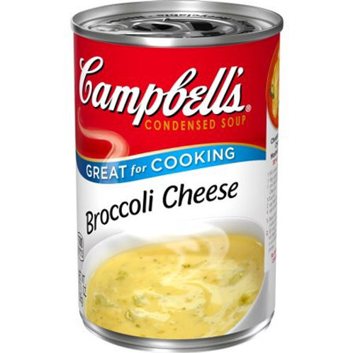 CAMPBELLS BROCOLI CHEESE SOUP 298G