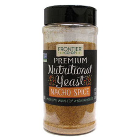 FRONTIER CO-OP NUTRITIONAL YEAST NACHO SPICE