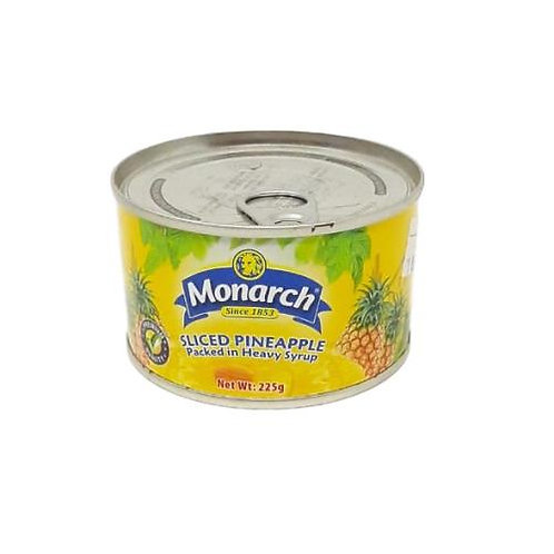 MONARCH SLICED PINEAPPLE 225G