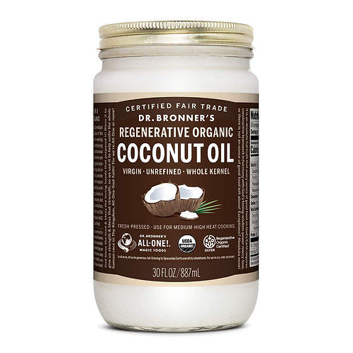 DR BRONNERS COCONUT OIL