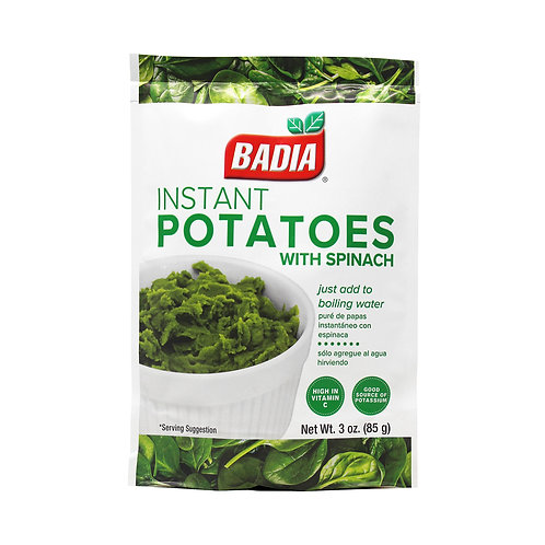Badia Instant Potatoes With Spinach 85g