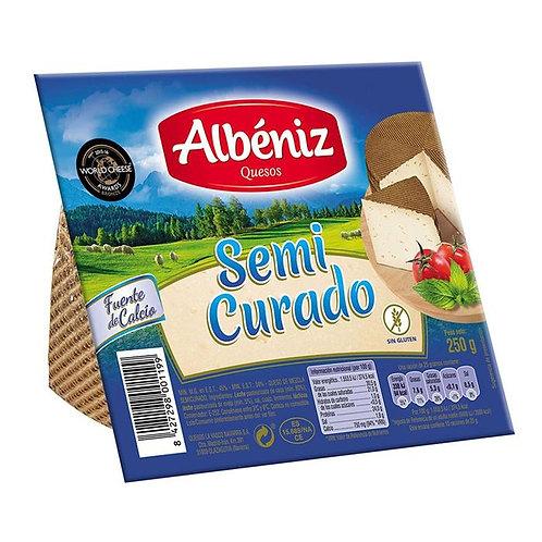 ALBENIZ QUESO SEMI CURADO 250G