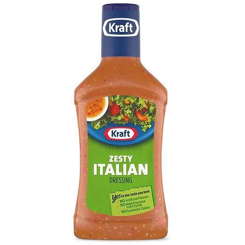 KRAFT DRESSING ZESTY ITALIAN