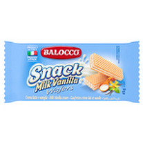 BALOCCO WAFERS MILK VANILLA 45G