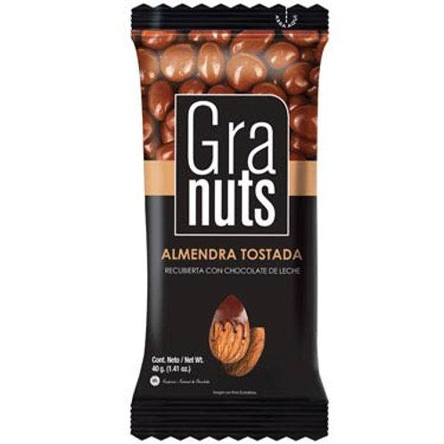 GRANUTS ALMENDRA TOSTADA CON CHOCOLATE
